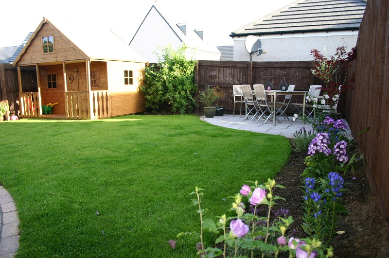 New Turfing Area & Planting Works