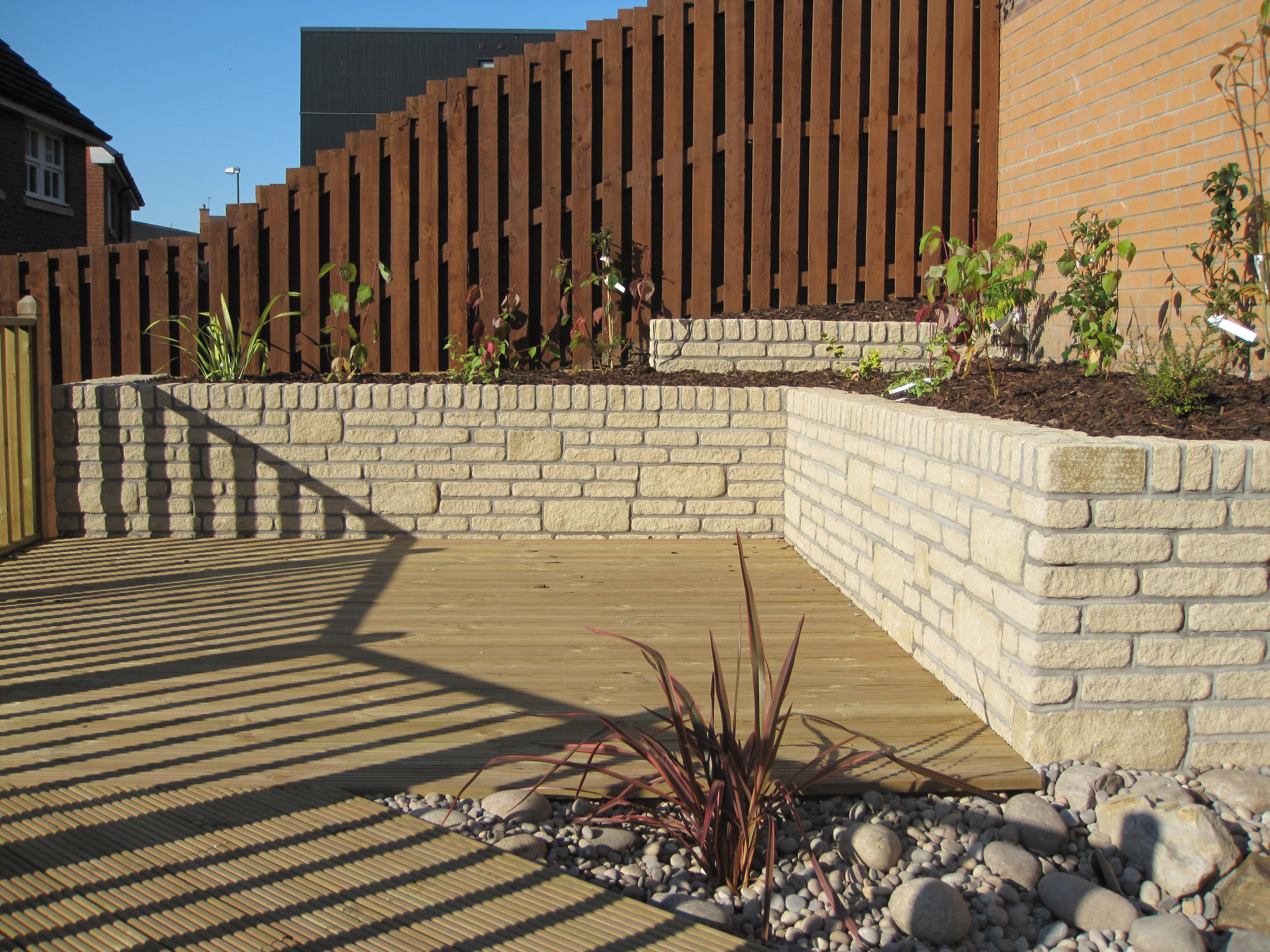 Timber Decking and walling
