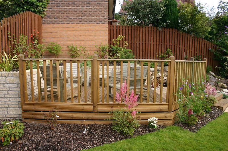 Timber Decking, Balustrade